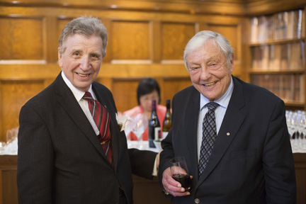 1-Master of Ceremonies Gerald Gummersell and Guest of Honour, the Honourable R. Roy McMurtry