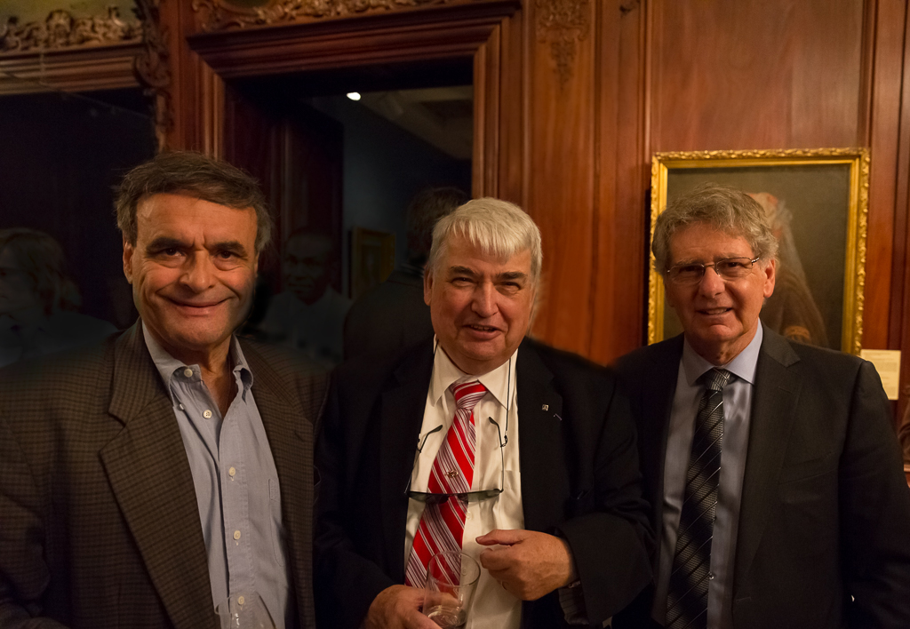 Hubert Gallet, Jacques G. Ruelland et John Parisella